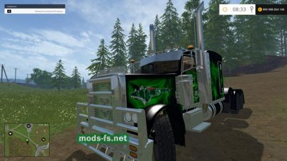 Peterbilt 379 Heavy Haul mods