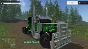 Peterbilt 379 для установки в игру Фермер Симулятор 2015