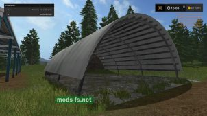 Мод объекта PLACEABLE HAYSHED CONVERTED FROM