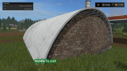 Hayshed Converted From