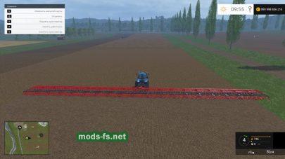 Очень широкий культиватор для игры Farming Simulator 2015