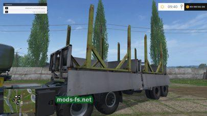 Прицеп для тягача МАЗ в Farming Simulator 2015