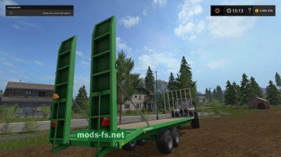 Мод платформы другой техники в Farming Simulator 2017