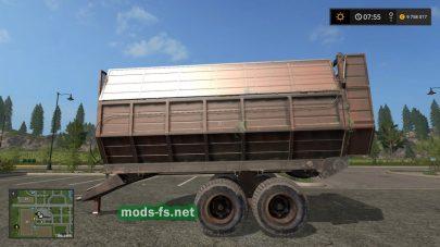 Прицеп для перевозки силоса в игре Фермер Симулятор 2017
