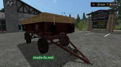 Прицеп ПТС 4 для Farming Simulator 2017