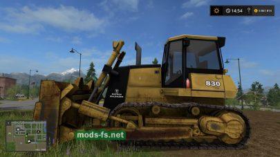 Мод бульдозера для Farming Simulator 2017