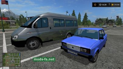 Мод Russian Traffic Pack 17 v 1.0