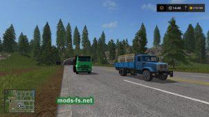 Мод на русский трафик в игре Фермер Симулятор 2017