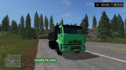 Русские машины в качестве трафика в игре FS 2017