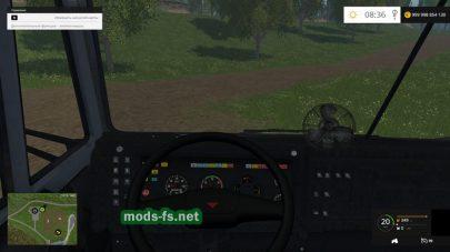 Мод КамАЗ-55111 для FS 2015