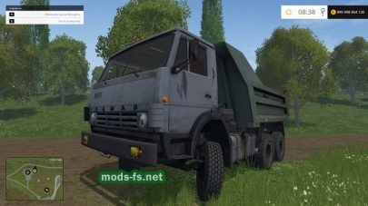 Мод самосвала КамАЗ-55111 для Farming Simulator 2015