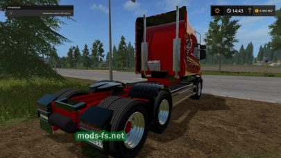 SCANIA T164 mods FS 2017