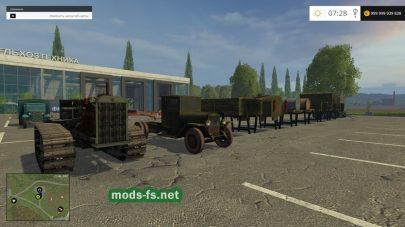 Сталинский пак техники для Farming Simulator 2015