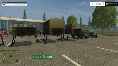 Мод пак советской техники для Сталинский пак техники для Farming Simulator 2015