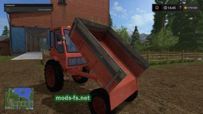 Мод трактора «Попрошайка» для FS 2017