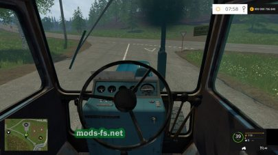 Мод на старый МТЗ для Farming Simulator 2015