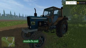 Ржавый трактор МТЗ для игры FS 2015