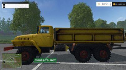 Мод лесовоза для Farming Simulator 2015