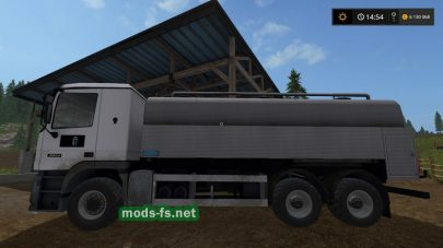 Грузовик Utility Tanker с цистерной для Farming Simulator 2017