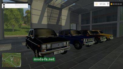 Мод автомобиля ВАЗ-2106
