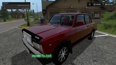 ВАЗ-2107 для Farming Simulator 2017
