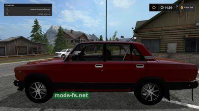 Скриншот мода ВАЗ-2107