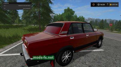 vaz-2107 mods FS 2017