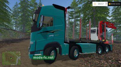 Мод лесовоза Volvo 750