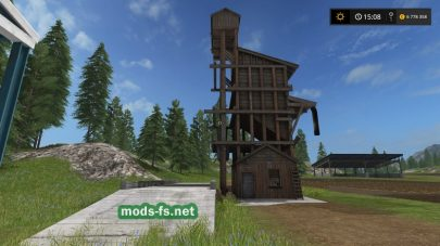 Мод WoodChip Storage для FS 2017