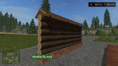 Мод на забор для Farming Simulator 2017