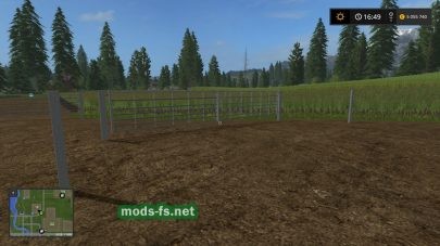 Мод на ворота для Farming Simulator 2017