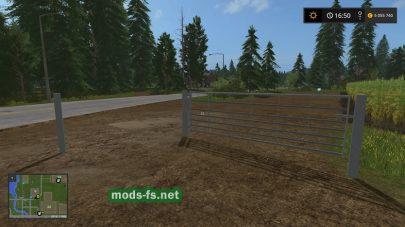 Железные ворота для Farming Simulator 2017