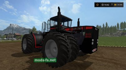 Мод огромного трактора для Farming Simulator 2017