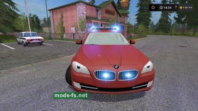 Полицейский автомобиль BMW 530D Touring Kdow для FS 2017
