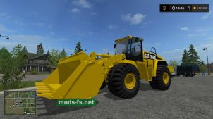 Мод Cat 980H для Farming Simulator 2017
