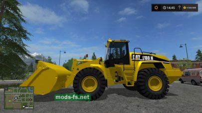 Мод погрузчика Cat 980H