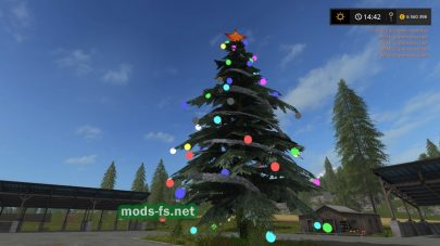 christmas tree mods FS 2017