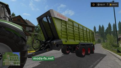 Claas Cargos 700 для Farming Simulator 2017