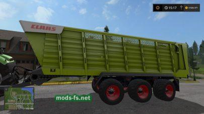 Мод пак прицепов Claas Cargos 700