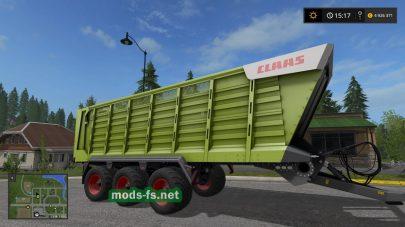 Мод Claas Cargos 700 для FS 2017