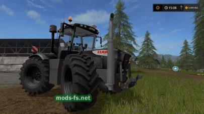Claas Xerion 3800 vc Black V1.0 для Farming Simulator 2017