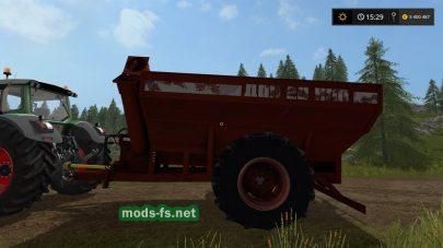 Русский прицеп Дон для Farming Simulator 2017