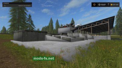 Дробилка щепы для игры Farming Simulator 2017