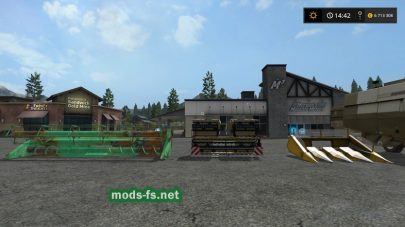 Мод «Fortschritt E 516 B» для Farming Simulator 2017
