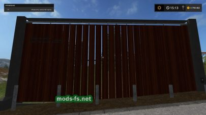 sliding gates mods FS 2017