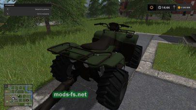 МодATV для Farming Simulator 2017