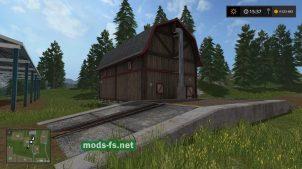 Мод хранилища для зерна в Farming Simulator 2017
