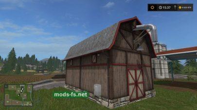 Склад для хранения зерна в игре FS 2017