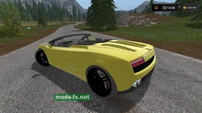 Lamborghini Gallardo для Фермер Симулятор 2017