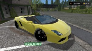 Lamborghini Gallardo Spyder mods